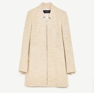 ZARA Collection Inverted Lapel Frock coat